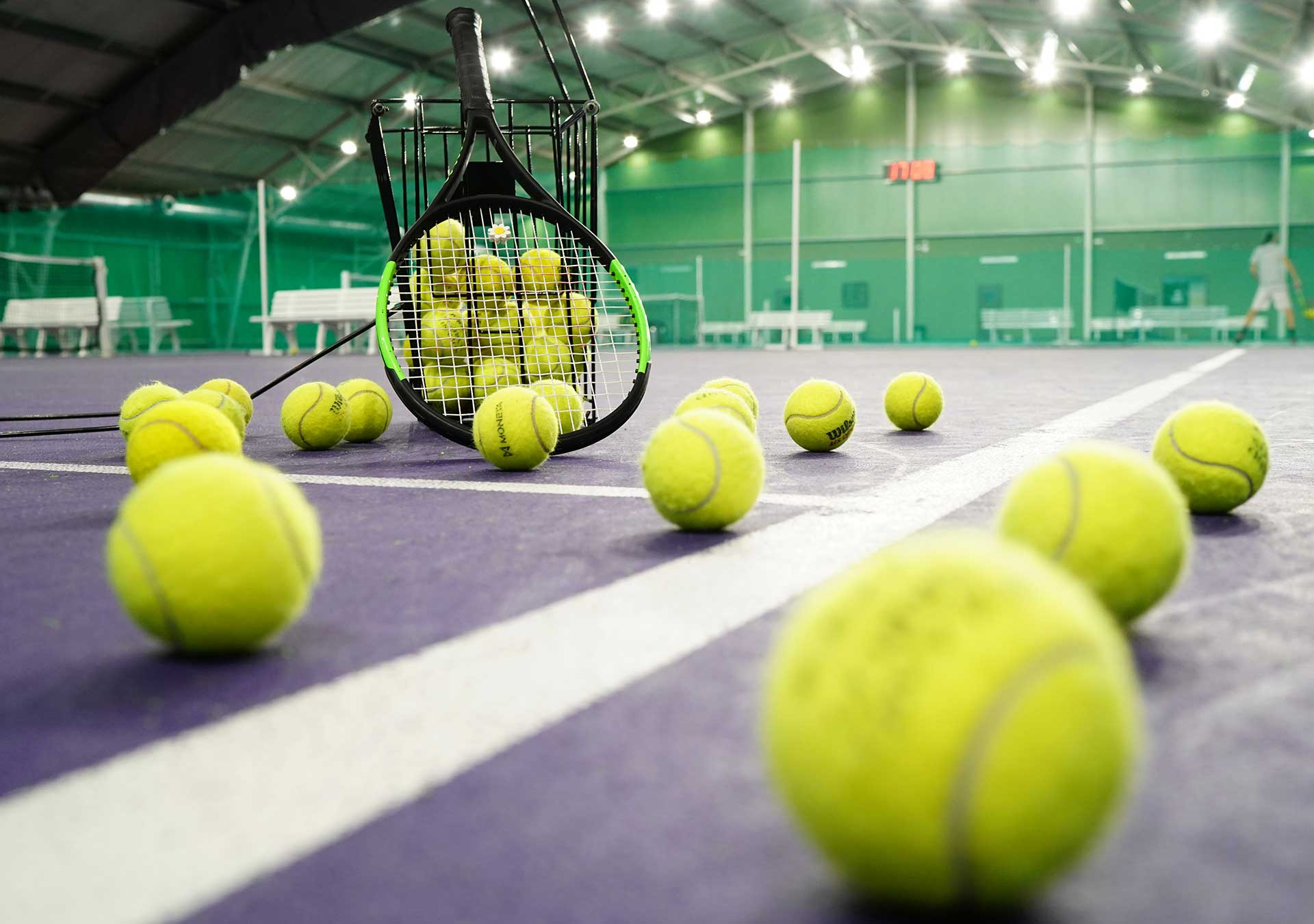 Tenis a badminiton